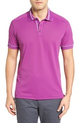 Bobby Jones Men's Tech Pique Golf Polo Bora Bora