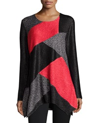 Berek Herringbone Crinkled Tunic Women's