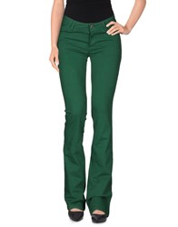 Pianurastudio Trousers Casual Trousers Women Green