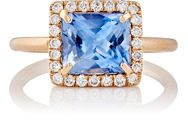 Irene Neuwirth Diamond Collection Women's Blue Sapphire And White Diamon Colorless