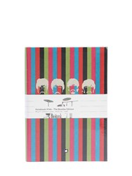 Montblanc The Beatles 146 Lined Notebook Multicolor