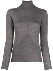 Lorena Antoniazzi Turtle Neck Sweater Grey