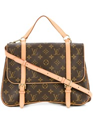 Louis Vuitton Vintage Marelle Sac A Dos Backpack Brown