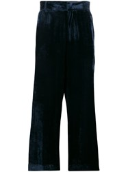 Sies Marjan Cropped Tailored Trousers Blue
