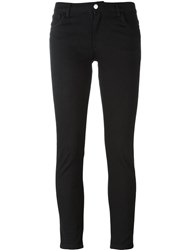 A.P.C. Cropped Skinny Trousers Black