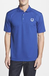 Men's Big And Tall Cutter And Buck 'Indianapolis Colts Genre' Drytec Moisture Wicking Polo