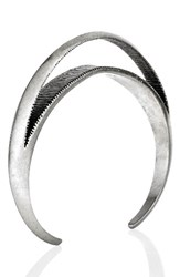 Jenny Bird Women's Crescent Moon Cuff Silver