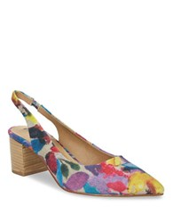 Tahari Revel Slingback Pumps Multi Colored