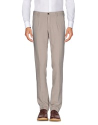 One Seven Two Casual Pants Beige