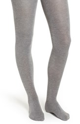 Natori Cashmere Blend Sweater Tights Med Gray Heather