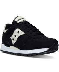 Saucony Women's Shadow Vegan Casual Sneakers From Finish Line Black