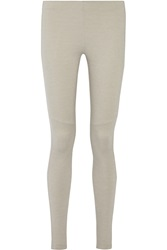 Mm6 Maison Margiela Stretch Jersey Leggings