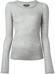 Isabel Marant 'Boyd' Slim Fit Sweater Grey