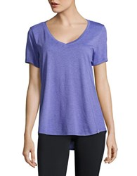 Marc New York Short Sleeved V Neck Tee Grape