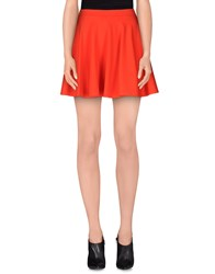 Plein Sud Jeans Plein Sud Skirts Mini Skirts Women Orange