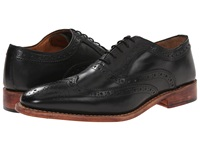 Lotus Harry Black Leather Men's Lace Up Wing Tip Shoes