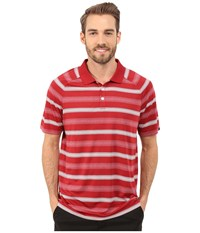 Oakley Warren Polo 2.0 New Crimson Men's Short Sleeve Pullover Red