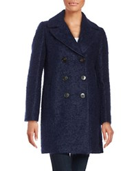 Marella Wool Blend Peacoat Blue