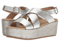 Cordani Rosalinda Silver Women's Wedge Shoes