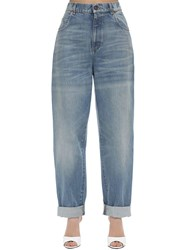 Gucci Loose Cotton Denim Jeans