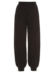 Barrie Troisieme Dimension Cashmere Trousers Black