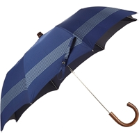 Barneys New York Striped Folding Umbrella