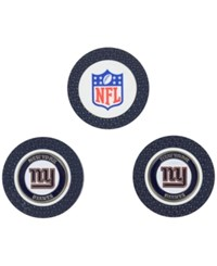 Team Golf New York Giants 3 Pack Poker Chip Markers Blue