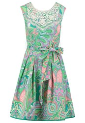Derhy Summer Dress Green