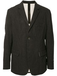 Forme D'expression Single Breasted Fitted Blazer 60