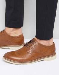 Tommy Hilfiger Metro Leather Brogues Tan