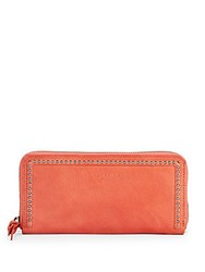 Liebeskind Embellished Leather Wallet Dark Grey