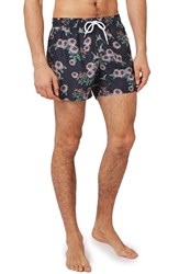 Topman Men's Floral Print Swim Shorts