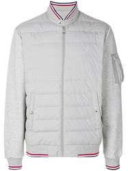 Polo Ralph Lauren Down Bomber Jacket Grey