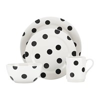 Kate Spade Deco Dot Dinner Set 12 Piece
