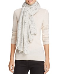 Bloomingdale's C By Donegal Cashmere Scarf 100 Exclusive Light Gray