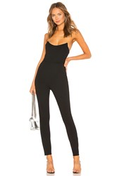 By The Way Noelle Corset Catsuit Black