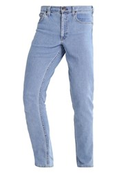 Lee Brooklyn Straight Straight Leg Jeans Super Stonewash Light Blue Denim