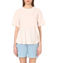 Steve J And Yoni P Sailor Woven Blouse Pink