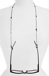 Corinne Mccormack 'London Small Screws' Beaded Eyewear Chain Silver