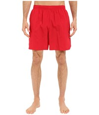 Tyr Classic Deck Swim Shorts Red Men's Swimwear