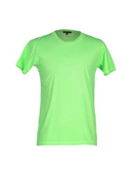 Surface To Air Topwear T Shirts Men Acid Green