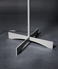 Foscarini Havana Floor Lamp Painted Aluminum White