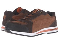 Puma Safety Barani Low Eh Brown Men's Work Boots