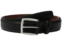 Torino Leather Co. 35Mm Saffiano Embossed Cowhide Black Men's Belts