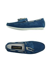 Gianfranco Lattanzi Footwear Moccasins Men Blue