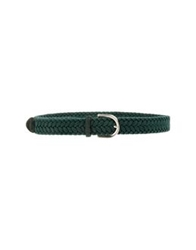 Manieri Belts Dark Green
