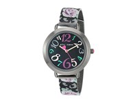 Betsey Johnson Bj00688 04 Black Pink Floral Watches Multi