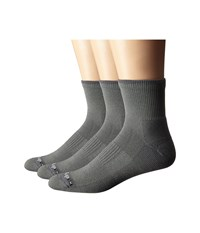 Drymax Sport Lite Hiking 1 4 Crew 3 Pack Green Gray Crew Cut Socks Shoes Brown
