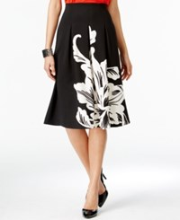 Alfani Prima Pull On Printed Scuba Skirt Only At Macy's
