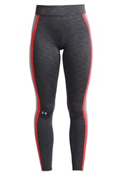 Under Armour Tights Carbon Heather True Gray Heather Grey